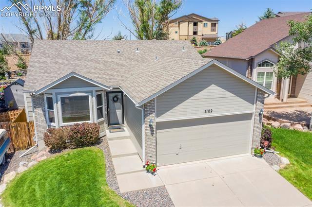 7102 Grand Prairie Drive, Colorado Springs, CO 80923 - #: 8811549