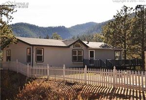 Photo of 133 Crystola Canyon Road, Woodland Park, CO 80863 (MLS # 4137553)
