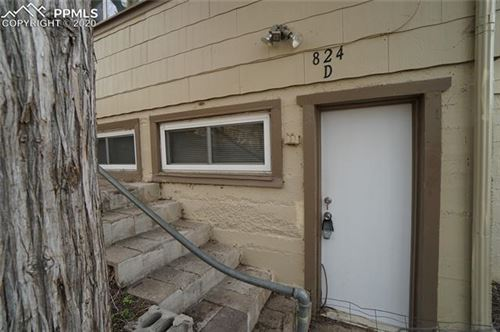 Photo of 824 Midland Avenue #D, Manitou Springs, CO 80829 (MLS # 8447559)