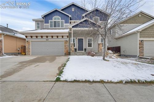 Photo of 6125 Rocking Chair Lane, Colorado Springs, CO 80925 (MLS # 8179563)