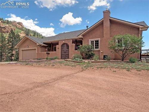 Photo of 5015 Neeper Valley Road, Manitou Springs, CO 80829 (MLS # 2328577)