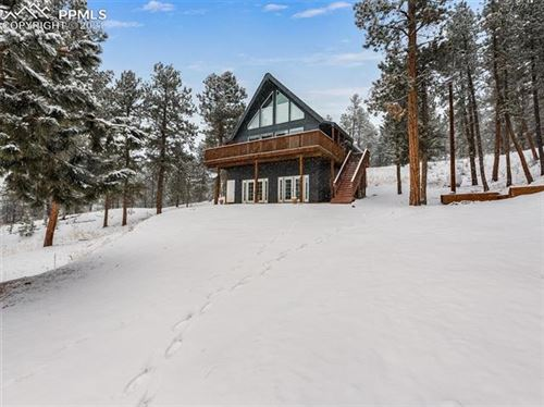 Photo of 14891 Evergreen Place, Woodland Park, CO 80863 (MLS # 4258603)