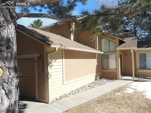 Photo of 4210 Autumn Heights Drive #D, Colorado Springs, CO 80906 (MLS # 6381604)