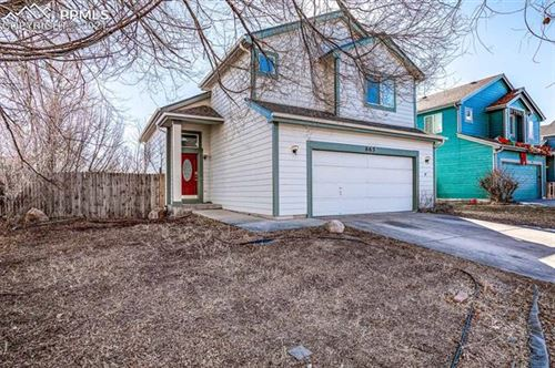 Photo of 865 Ancestra Drive, Fountain, CO 80817 (MLS # 4107605)
