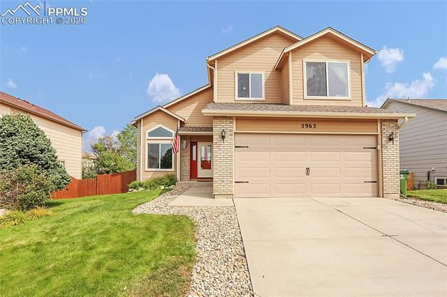 5963 Leather Drive, Colorado Springs, CO 80923 - MLS#: 1363607