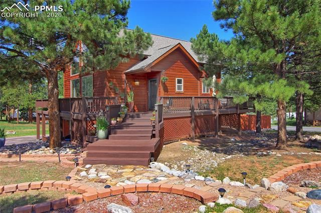Photo for 1280 Chippewa Trail, Woodland Park, CO 80863 (MLS # 2131608)