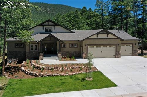 Photo of 680 Chipmunk Drive, Woodland Park, CO 80863 (MLS # 3508614)