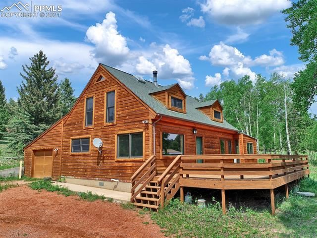561 Mills Ranch Road, Woodland Park, CO 80863 - #: 8725615
