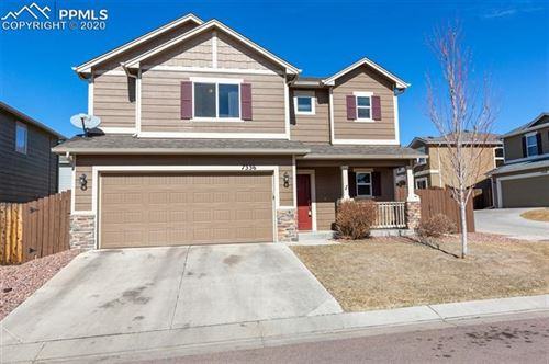 Photo of 7336 Axis Point, Colorado Springs, CO 80922 (MLS # 1143616)