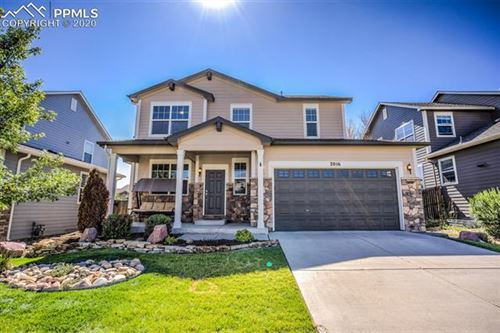 Photo of 2016 Capital Drive, Colorado Springs, CO 80951 (MLS # 8243621)