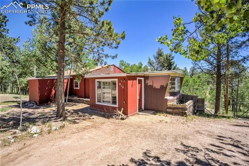 Photo of 812 Blossom Road, Woodland Park, CO 80863 (MLS # 4940625)