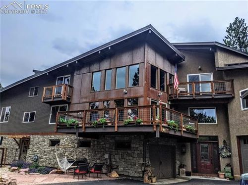 Photo of 1168 Forest Hill Road, Woodland Park, CO 80863 (MLS # 2671629)