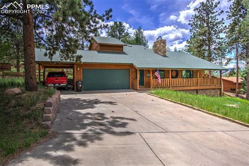 Photo of 1205 Telemark Drive, Woodland Park, CO 80863 (MLS # 9500632)