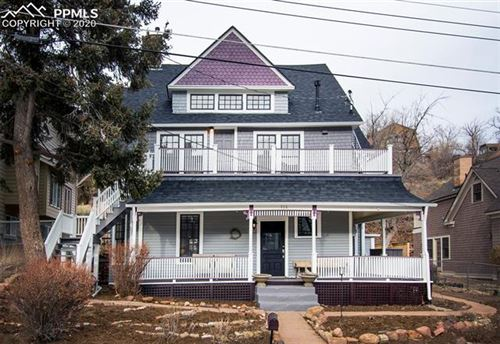 Photo of 114 CAPITOL HILL Avenue, Manitou Springs, CO 80829 (MLS # 4156638)