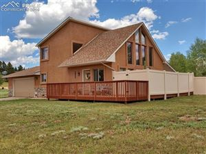 Photo of 1855 Chippewa Trail, Woodland Park, CO 80863 (MLS # 9347639)