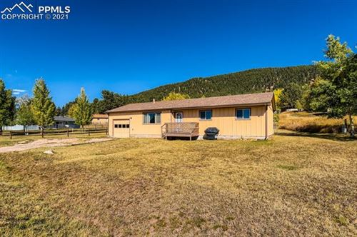 Photo of 575 Forest Edge Circle, Woodland Park, CO 80863 (MLS # 2734646)