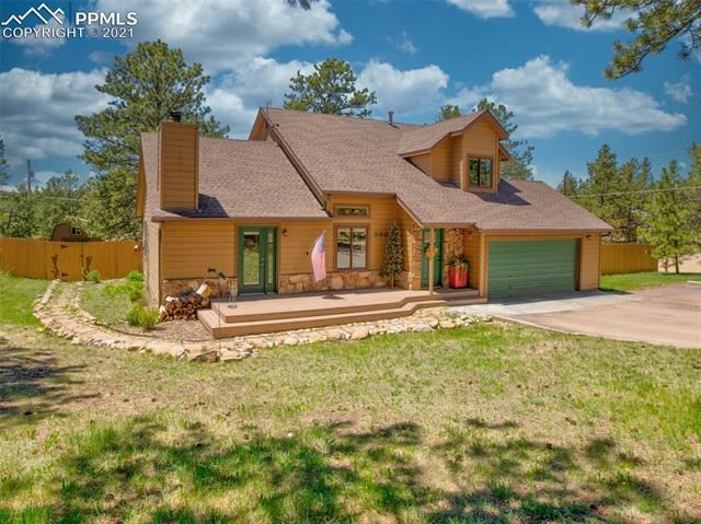 Photo for 366 Piney Point Lane, Woodland Park, CO 80863 (MLS # 7814651)