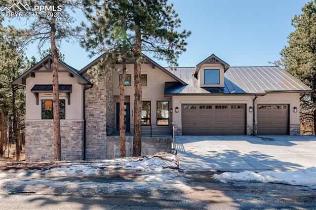 Photo for 621 Skyline Drive, Woodland Park, CO 80863 (MLS # 8431665)