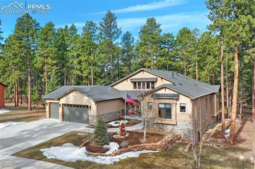 Photo of 1250 Cottontail Trail, Woodland Park, CO 80863 (MLS # 3398671)
