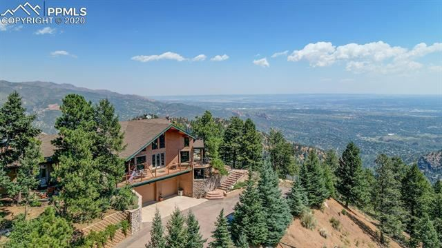 Photo for 5007 Wing Shadow View, Manitou Springs, CO 80829 (MLS # 2001672)