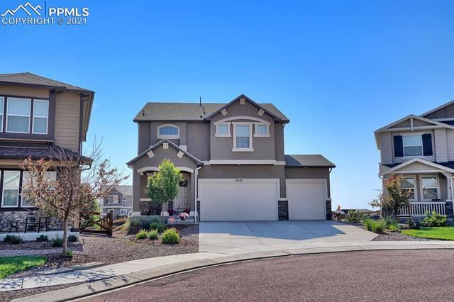 6439 Forest Thorn Court, Colorado Springs, CO 80927 - #: 8409675