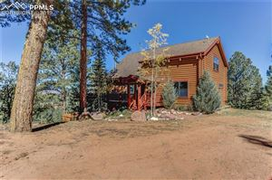 Photo of 155 Blue Spruce Trail, Woodland Park, CO 80866 (MLS # 5841679)