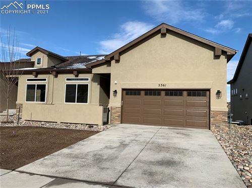 Photo of 5361 Silverstone Terrace, Colorado Springs, CO 80919 (MLS # 1615683)