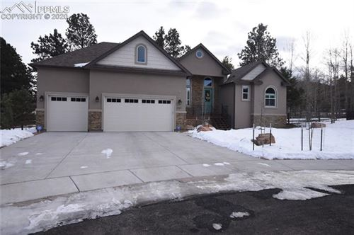 Photo of 327 Black Bear Trail, Woodland Park, CO 80863 (MLS # 1337700)