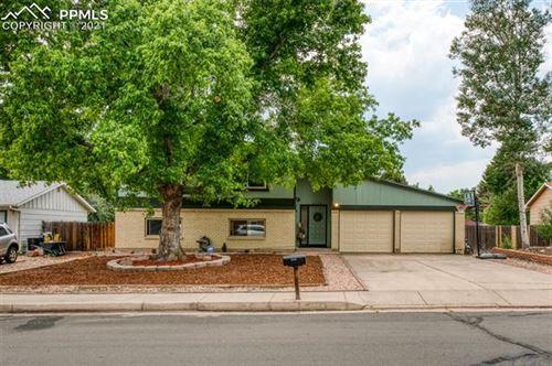 Photo of 4802 S Hackamore Drive, Colorado Springs, CO 80918 (MLS # 9563716)