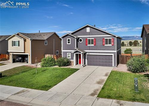 Photo of 9195 Sand Myrtle Drive, Colorado Springs, CO 80925 (MLS # 8499722)