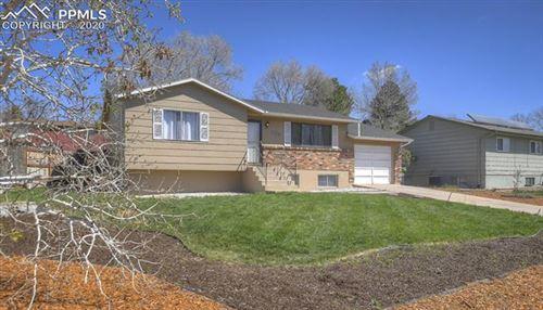Photo of 1328 Commanchero Drive, Colorado Springs, CO 80915 (MLS # 7034789)