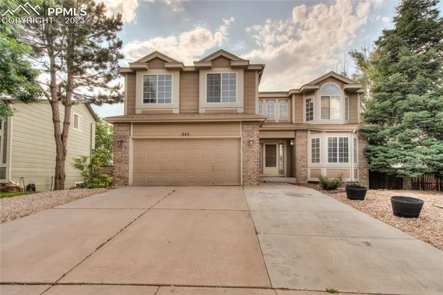 845 Piros Drive, Colorado Springs, CO 80922 - #: 1327792