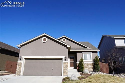 Photo of 10733 Echo Canyon Drive, Colorado Springs, CO 80908 (MLS # 8813815)