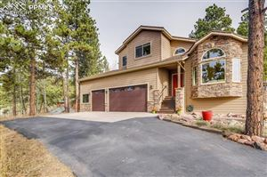 Photo of 1210 Kings Crown Road, Woodland Park, CO 80863 (MLS # 8593843)