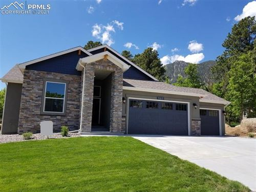 Photo of 547 Mountain Pass View, Colorado Springs, CO 80906 (MLS # 1721844)