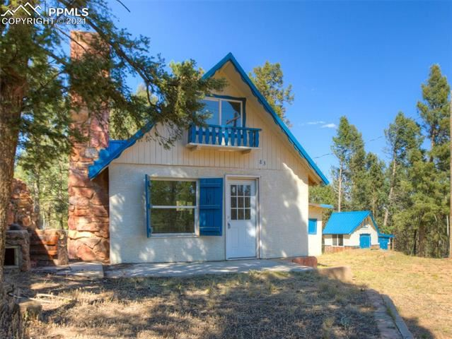 Photo for 83 Gentian Road, Woodland Park, CO 80863 (MLS # 3555895)