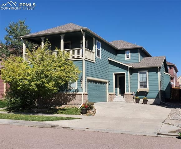 6418 Silverwind Circle, Colorado Springs, CO 80923 - #: 7084896