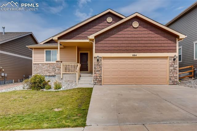 884 deschutes Drive, Colorado Springs, CO 80921 - #: 2342903