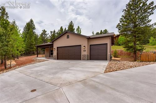 Photo of 629 Misty Pines Circle, Woodland Park, CO 80863 (MLS # 8185928)