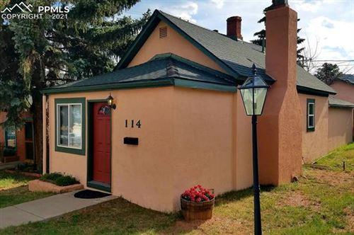 Photo of 114 N Center Street, Woodland Park, CO 80863 (MLS # 3910931)