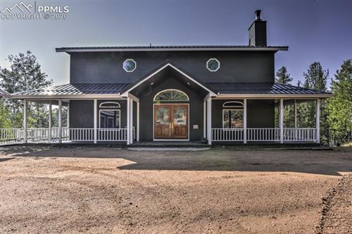 Photo of 4265 Trout Creek Road, Woodland Park, CO 80863 (MLS # 8533944)