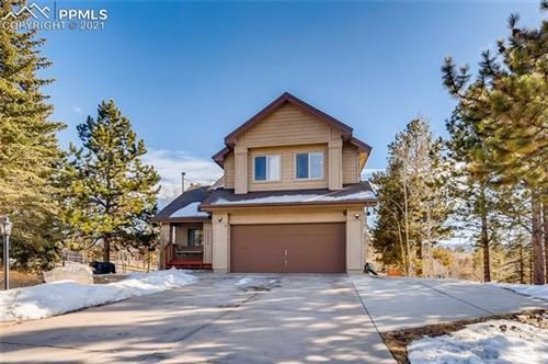 Photo of 2205 Valley View Drive, Woodland Park, CO 80863 (MLS # 4328945)