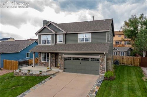 Photo of 7388 Waterman Way, Colorado Springs, CO 80922 (MLS # 7101951)