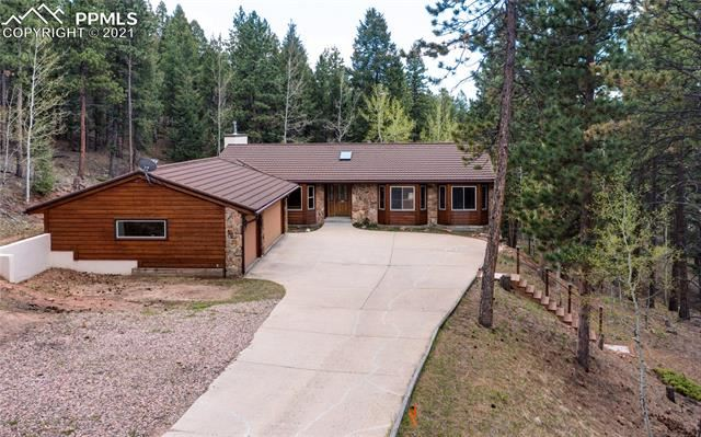 Photo for 1240 Charwest Drive, Woodland Park, CO 80863 (MLS # 7861951)