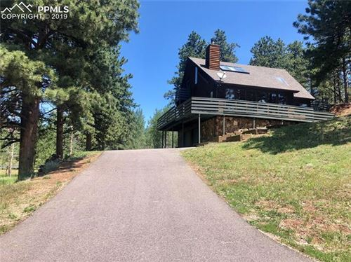 Photo of 200 Sun Ridge Court, Woodland Park, CO 80863 (MLS # 4536979)