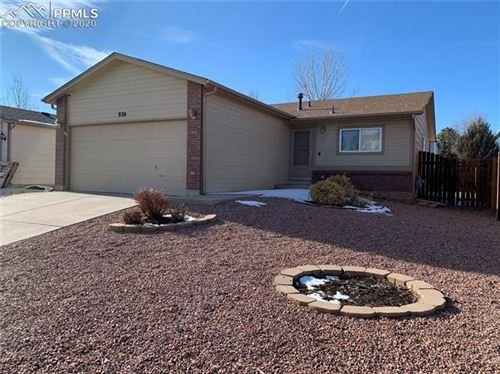 Photo of 970 Ancestra Drive, Fountain, CO 80817 (MLS # 3186983)