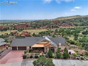 Photo of 261 Crystal Valley Road, Manitou Springs, CO 80829 (MLS # 1407997)