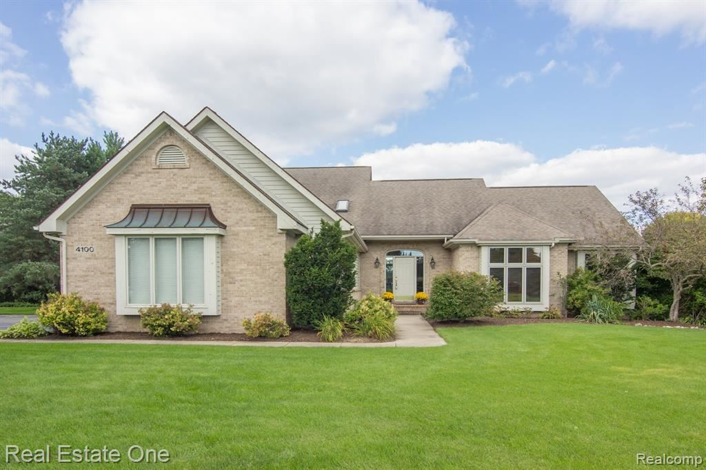 Photo for 4100 Newcastle Drive, Orion Township, MI 48348 (MLS # 219040050)