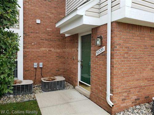 Photo of 52339 Heatherstone Avenue #13, Macomb Township, MI 48042 (MLS # 2200060055)