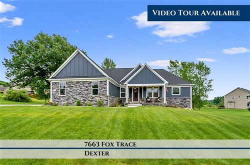 Photo of 7663 Fox Trace Road, Webster Township, MI 48130 (MLS # 543274081)